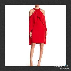 💘💋 Sale ISSU NEW YORK Cold Shoulder Halter Dress